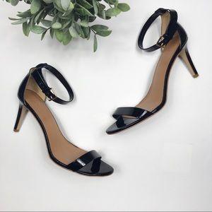 d552c122ee6 J. Crew patent high heel sandal strappy